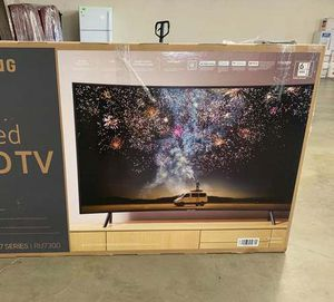 "Brand New Curved 55"" Samsung TV! Open box w/ warranty! VR for Sale in Kyle, TX"