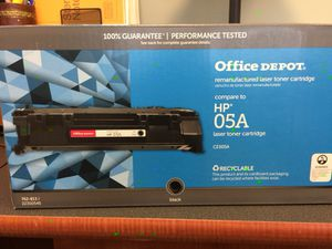 Office Depot HP 05 A toner - CE505A for Sale in Atlanta, GA