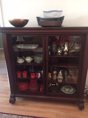 Mahogany bookcase for Sale in Cheshire, CT