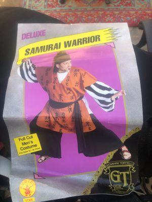 Adult samurai warrior costume for Sale in Montebello, CA