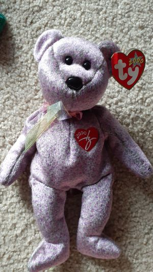 Very rare 2000 Signature Bear TY beanie baby for Sale in Kent, WA