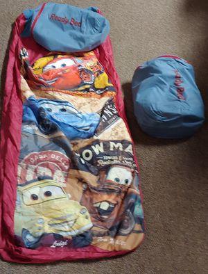 Ready Bed Disney's Lightning McQueen Twin Air Mattress Sleeping Bag $20.00 Each for Sale in Burlington, NC