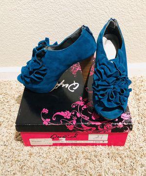 Qupid teal heels for Sale in San Diego, CA
