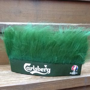 Carlsberg Beer Green Turf Head UEFA Soccer Euro 2016 France Hat - Brand New for Sale in Chicago, IL