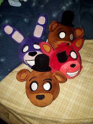 FNAF PLUSHIES! for Sale in Lakebay, WA