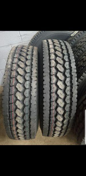 New Semi Truck Virgin Tires for Sale in Romulus, MI