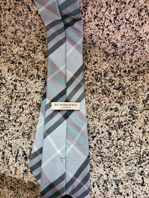 Mens authentic Burberry plaid tie like new condition bought at bloomingdale's for Sale in Yorba Linda, CA