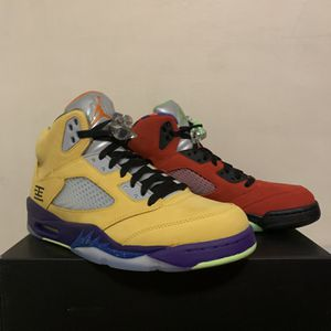 """Jordan 5 """"What The"""" Sz 10 Never Worn for Sale in Manchester, CT"""