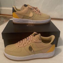 Nike Air Force 1 NBA Sesame Color Sizes 8, 9, 12, 14 for Sale in Silver Spring,  MD