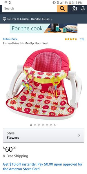 Fisher Price Sit-Me-Up seat for Sale in Dundee, FL