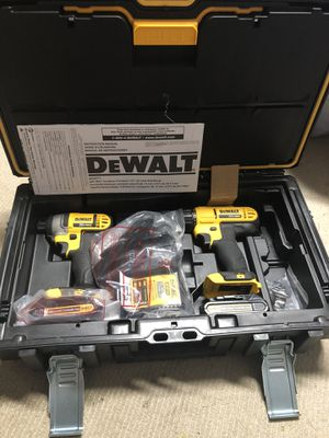 Dewalt drill and impact driver combo for Sale in Federal Way, WA
