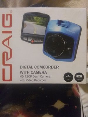 Digital camcorder with camera/ dash cam for Sale in Livermore, CA