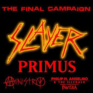 VIP tickets to Slayer's Final Campaign Tour (3) for Sale in Cañon City, CO
