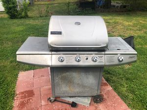 Stainless Steel BBQ Grill 4 Burner Set for Sale in Springfield, VA