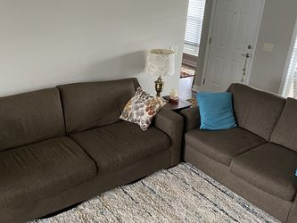 Couch And Loveseat Brown for Sale in Spring Hill,  TN