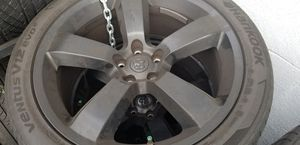 2008 charger srt8 stock rims tires for Sale in Burbank, CA