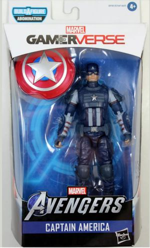 Marvel Legends Gamerverse Captain America Collectible Action Figure Toy for Sale in Chicago, IL