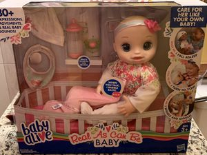 Baby alive real as can be baby for Sale for sale  Oak Lawn, IL