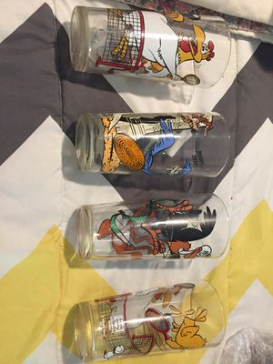 Set of four Pepsi collectible glasses for Sale in Crewe, VA