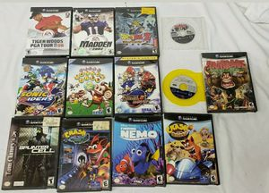 Lot of 13 Nintendo Gamecube video games tested for Sale in White Oak, PA