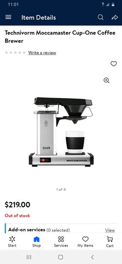 TECHNI Vorm MOCCAMASTER Single Cup Coffee Brewer Maker $120 Ea. Brand New (Price Is Firm) for Sale in Gardena,  CA