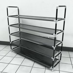 "New $15 Adjustable 25 Pair Shoe 5-Tier Rack Tower Space Saving Storage Organizer 39x11x36"" for Sale in Whittier, CA"