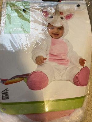 Unicorn baby Halloween costume for Sale in Stockton, CA