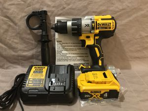 Brand new never used Dewalt XR 20V brushless 3 speed hammer drill tool set. With tool bag for Sale in Vacaville, CA