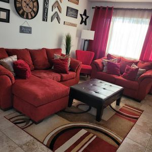 Sofa, Love Seat, And Chair For Sale, CASH ONLY... for Sale in Sacramento, CA