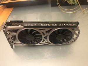 EVGA Nvidia GeForce GTX 1080Ti SC2 Gaming GPU Graphic Video Card Computer PC Desktop Laptop 1080 for Sale in Enfield, CT