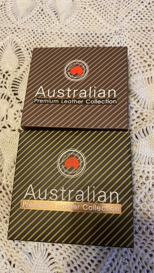 2 pack of Australian Premium Leather Collection for Sale in Milpitas, CA