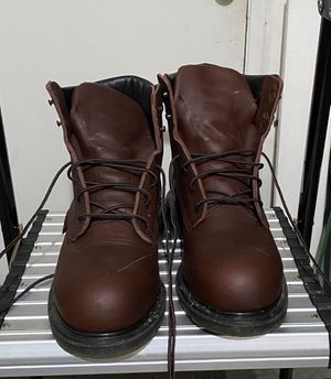 Red Wing waterproof work boots size 9.5 for Sale in Port Angeles, WA