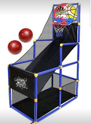 New Kids Basketball Hoop Arcade Game w/ 2 Inflatable Balls and Pump, Good For Game Room or Playroom for Sale in Wilkes-Barre, PA