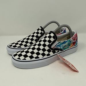 Vans SLIP ON CUSTOMS BRUSH STROKE for Sale in West Chester, PA