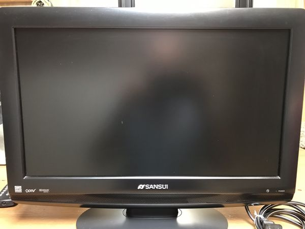 "19"" SANSUI LCD TV with Remote"