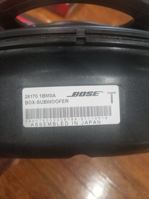 Bose subwoofer for Sale in Philadelphia, PA