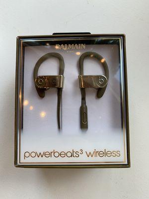 Beats x Balmain Powerbeats3 Wireless Earphones for Sale in Seattle, WA