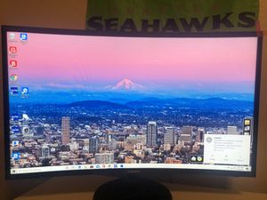 Samsung monitor , hp computer, wireless mouse and keyboard for Sale in Vancouver, WA