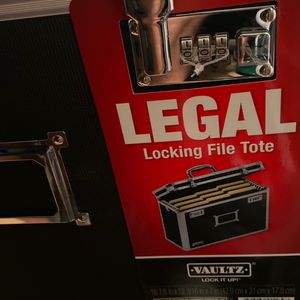 Vaultz File Cabinet for Sale in Los Angeles, CA