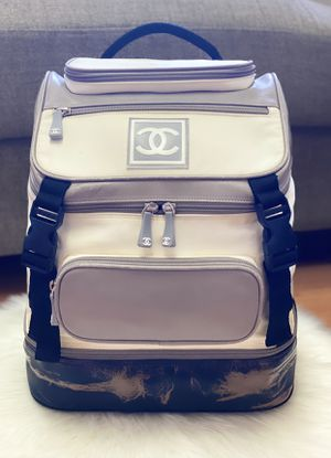 Authentic Chanel CC Medium Size Backpack Travel Bag for Sale in Pacifica, CA
