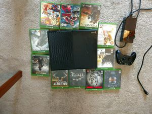 Xbox One, Power box, HDMI, Controller, 11 games. 275 OBO for Sale in Lake Stevens, WA