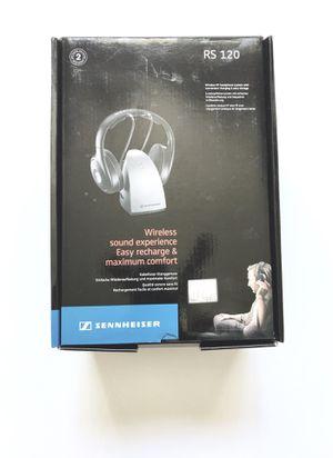 Sennheiser RS120 On-Ear Wireless RF Headphones with Charging Cradle for Sale in Boynton Beach, FL