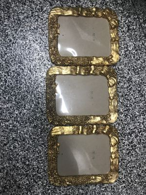 Beautiful gold frames 12 length and 10 wide for Sale in Corona, CA