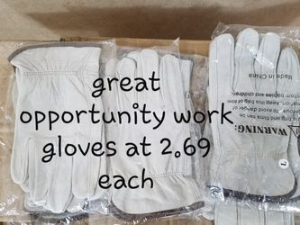Leather Work Gloves for Sale in Fort Worth,  TX