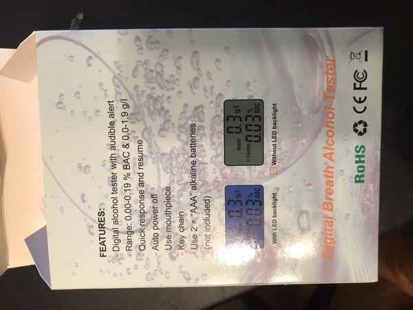 Digital breathalyzer new