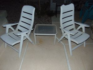 3 pc patio furniture for Sale in Las Vegas, NV