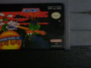 Daffy duck the Marvin missions super Nintendo game for Sale in Mitchell, IL