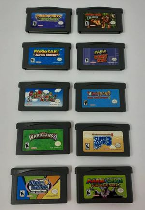 Mario Nintendo Gameboy advance games Lot for Sale in Crofton, MD