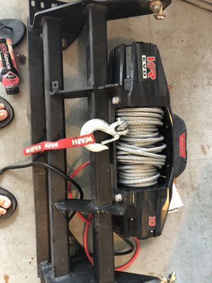Warn VR Evo 10 winch for Sale in Humble, TX