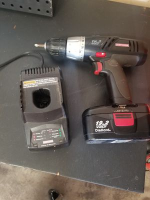 Craftsman 19.2 bolt drill w/ battery and charger for Sale in Albertville, MN